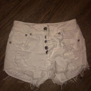 AE high waisted shorts